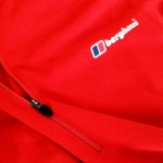 Nice length zip on the Berghaus tech t zip