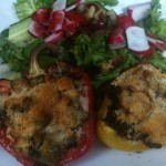 Hairy Dieters stuffed peppers