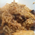 Hairy Dieters Chicken and mushroom risotto