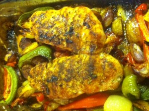 Hairy Dieters Spanish Chicken Bake