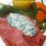 Hairy dieters gammon and parsley sauce