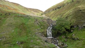 Waterfall on our walk from gunnerside