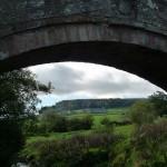Under Duck Bridge to Danby Castle