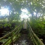 Footbridge over a nice little beck