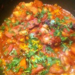 Hairy dieters special cassoulet