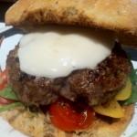 Hairy dieters mediterranean burger