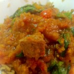 Hairy Dieters Lamb, Spinach and Potato curry