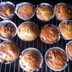 Hairy Dieters Skinny lemon and blueberry cup cakes