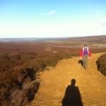 Back across the moor